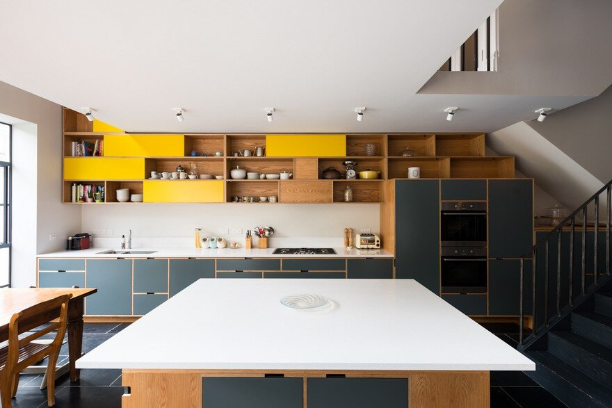 Terrace House Renovation in South Hampstead, London