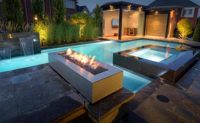 Mystical refinement with fire pits by Paloform