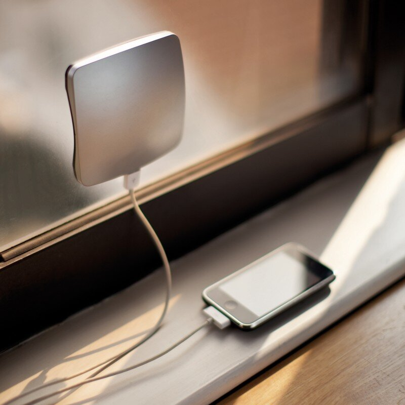 Solar chargers, smart devices for home and office, by XD Design