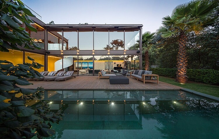 Fernanda Marques luxury residence, a dream house in Brazil