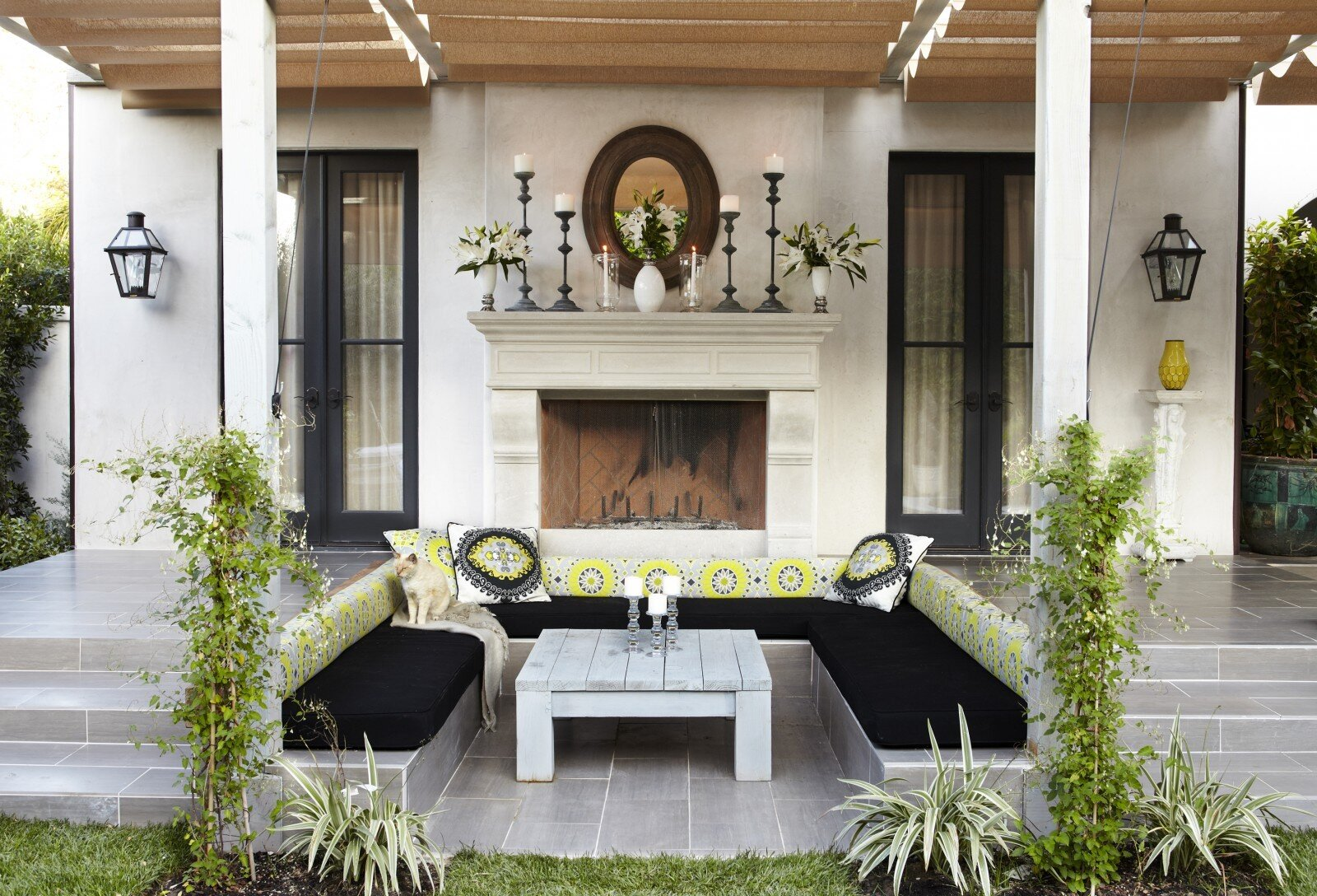 Outdoor Living Room, A Place Of Complete Relaxation