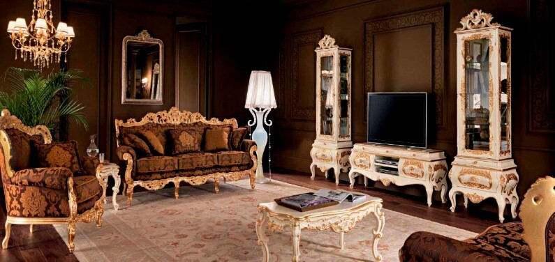 A beautiful selection of 15 living rooms, decorated in classic style