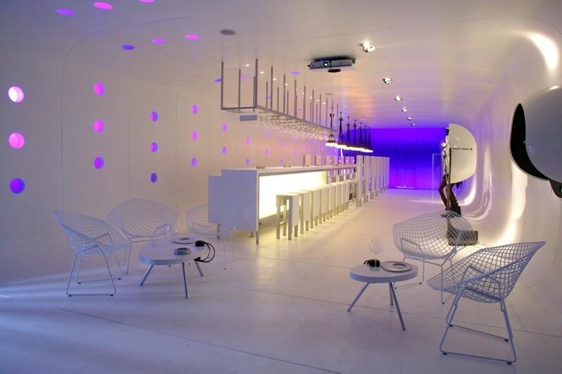 El Tubo Bar Abstract Interior Design By Assadi And Pulido