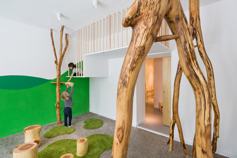 Playground and kindergarten, by Baukind from Berlin, Germany (1)