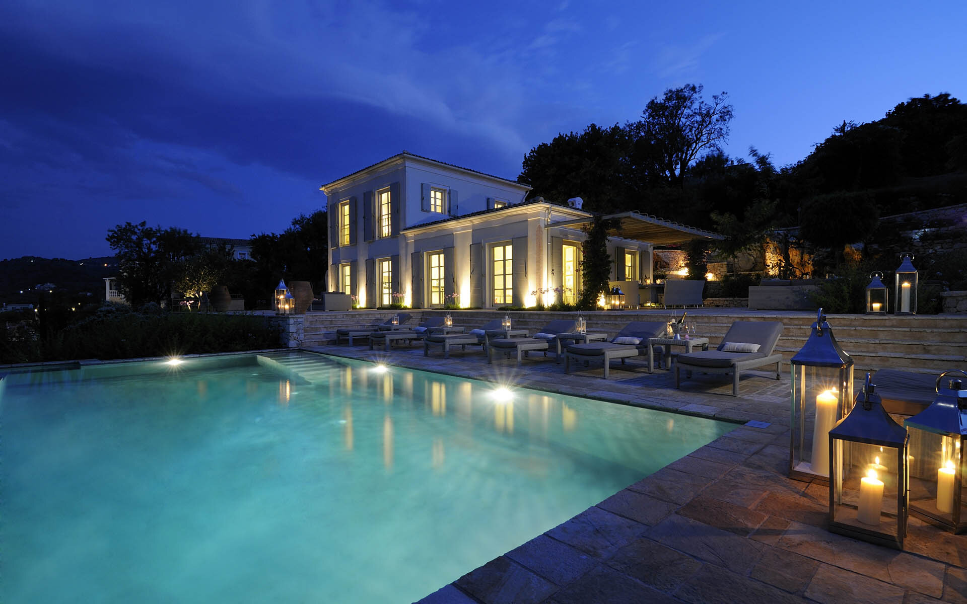 Atolikos House, an idyllic corner on the Greek island of Corfu