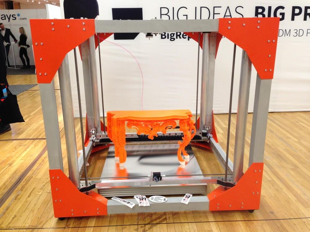 BigRep proposes a new 3D printer (1)