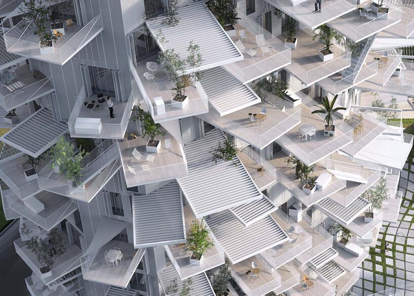 L'Arbre Blanc – Best Architectural Design in Montpellier