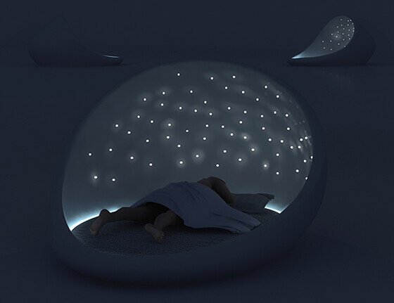 Who doesn't want a good night sleep…in Cosmos Bed?