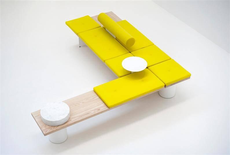Galleria, distinct and versatile concept by Pearson Lloyd