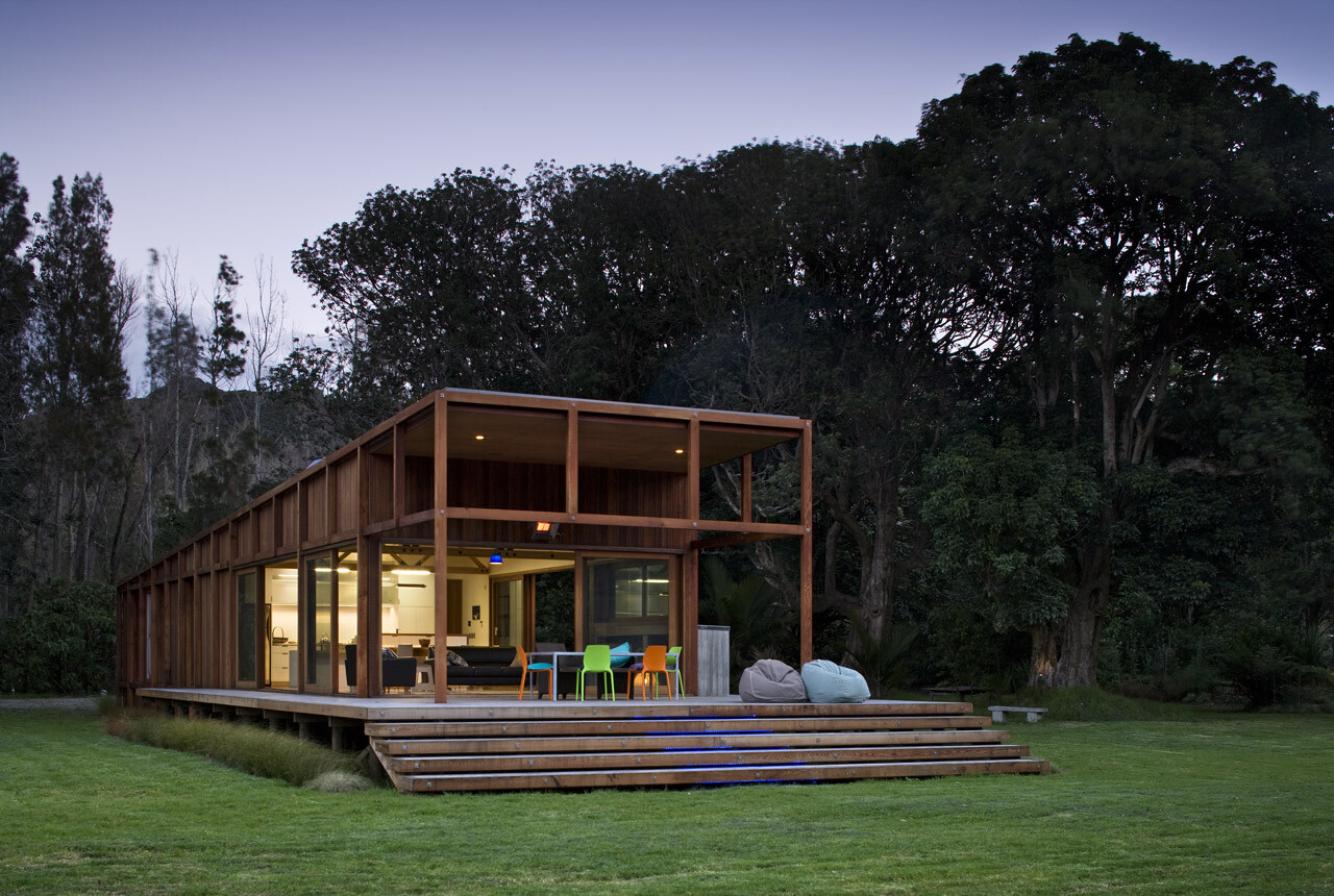 Great Barrier House: a green project for 100% solar energy