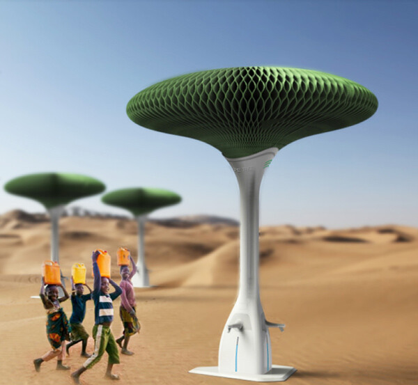 Hope Tree – solution for desert areas, by Zhejiang University