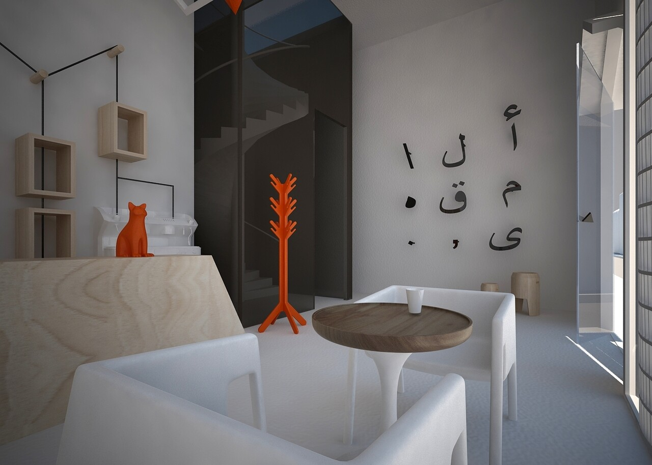 Cafe Al maqha – a unique design by Fares Dhifi