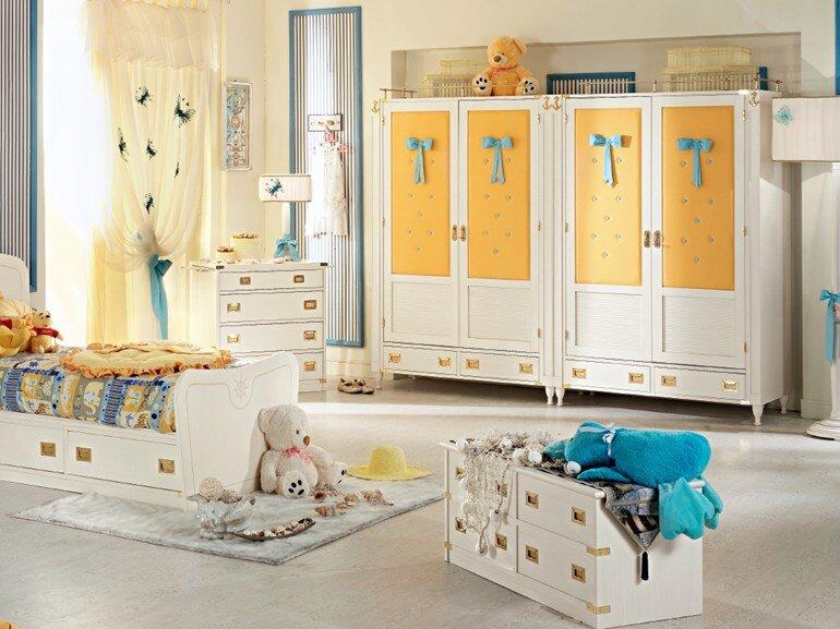 Caroti transform the child's room in a micro universe (1)