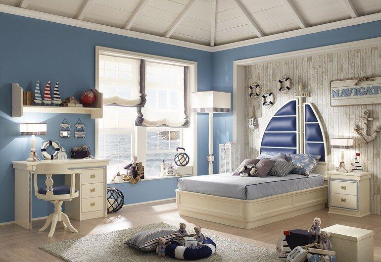 Caroti transform the child's room in a micro universe (16)