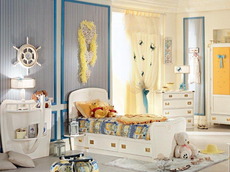 Caroti transform the child's room in a micro universe (3)