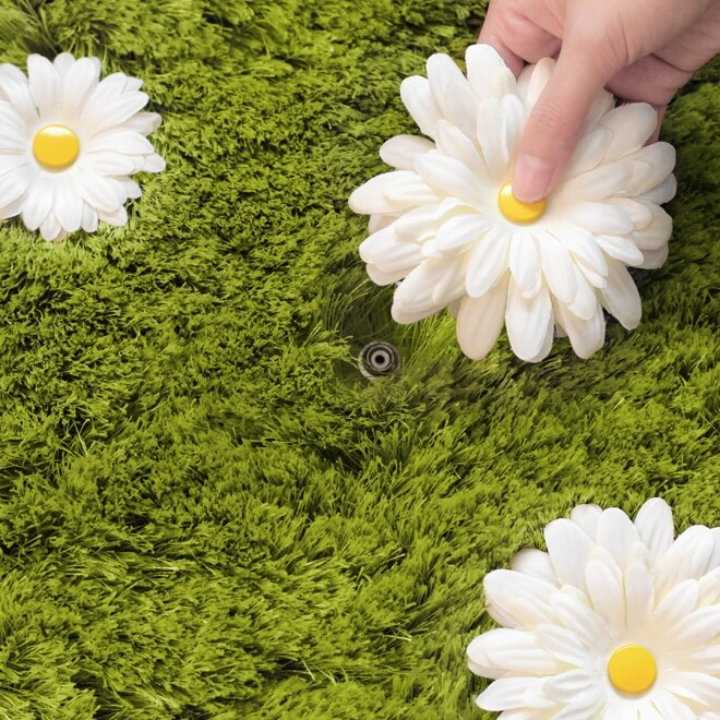 Daisy Garden Rug – a Playful and Interactive Rug