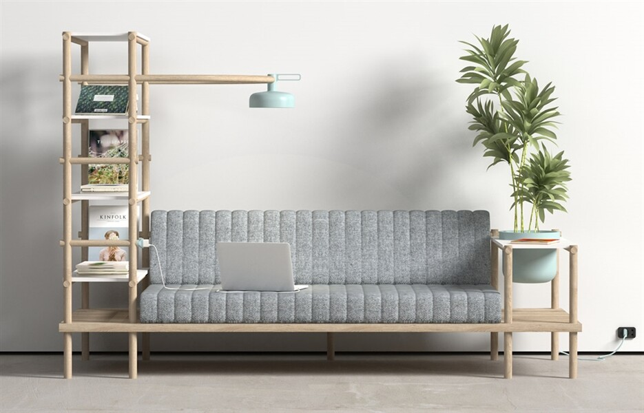 Herb - multifunctional sofa by Burak Kocak