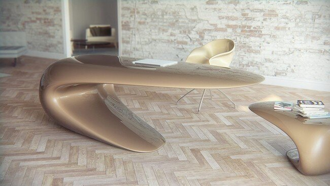 Nebbessa Table : Nuvist materialized concept of elegance