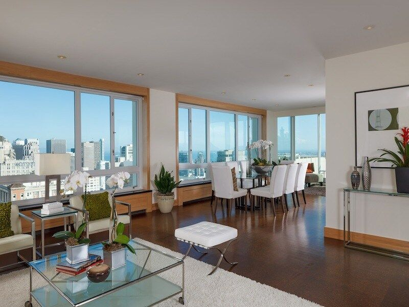 Nob Hill Condo with majestic view over the city of San Francisco