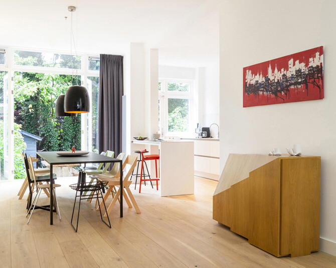 Beautifully Renovated Apartment in Amsterdam by Chris Collaris Design