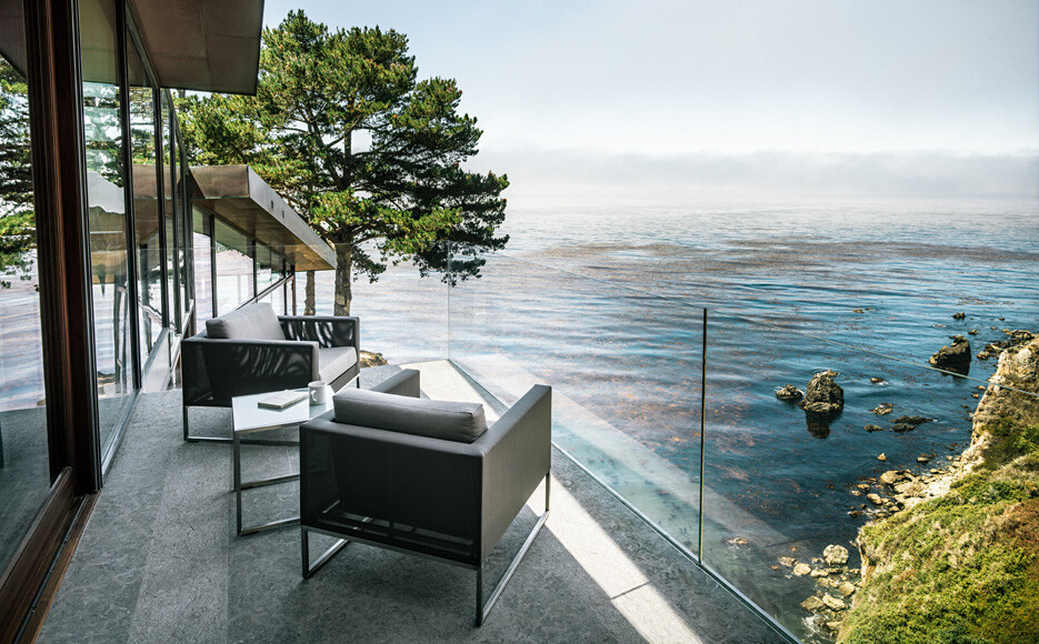 Fall House : anchored in the imposing beauty of the Californian coast