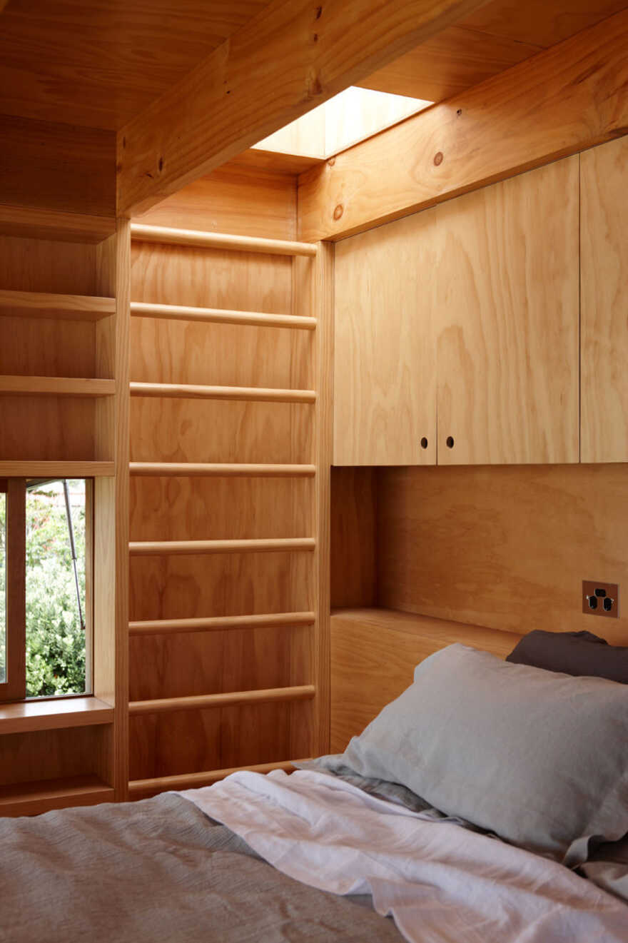 bedroom by Crosson Architects