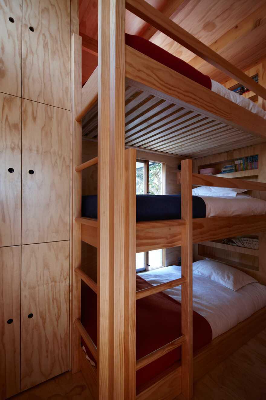 bedroom, Coromandel Beach , Crosson Architects