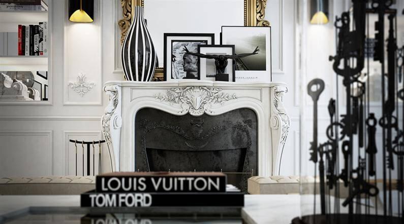 Paris apartment: magnific artistic vision by Ando Studio