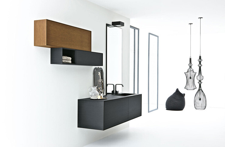 Volo Green: minimalist bathroom collection by Altamarea