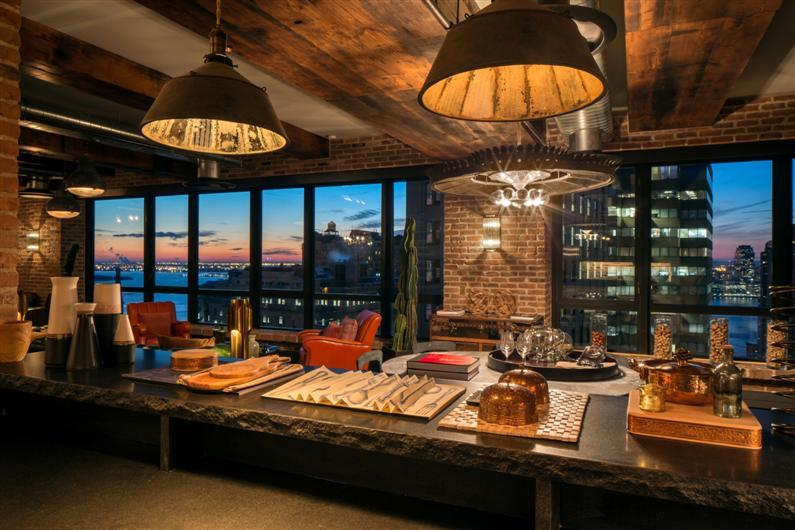 New York penthouse personalized as a unique universe with timeless values