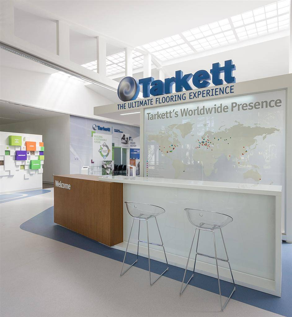 Tarkett Academy: exhibition and educational space by Modelart Arhitekti