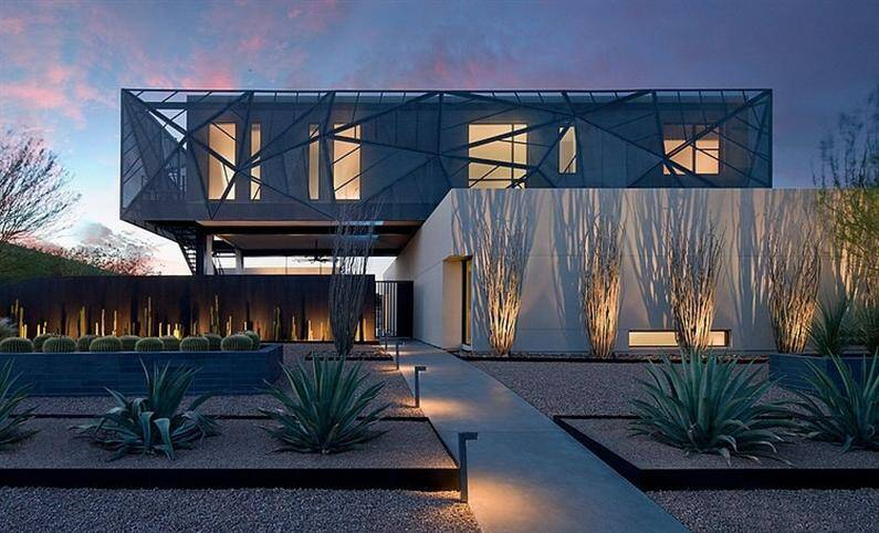 Tresarca Residence: Amazing Architecture in Las Vegas
