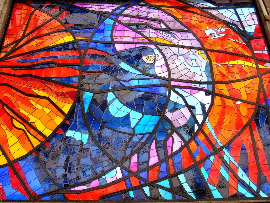 Toluca: the Botanical Garden of Stained Glass