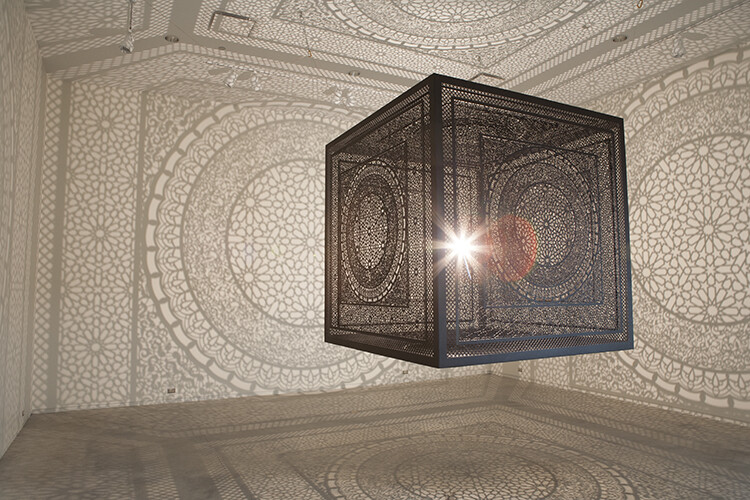 Intersections by Anila Quayyum Agha: artistic action and social message through geometric design