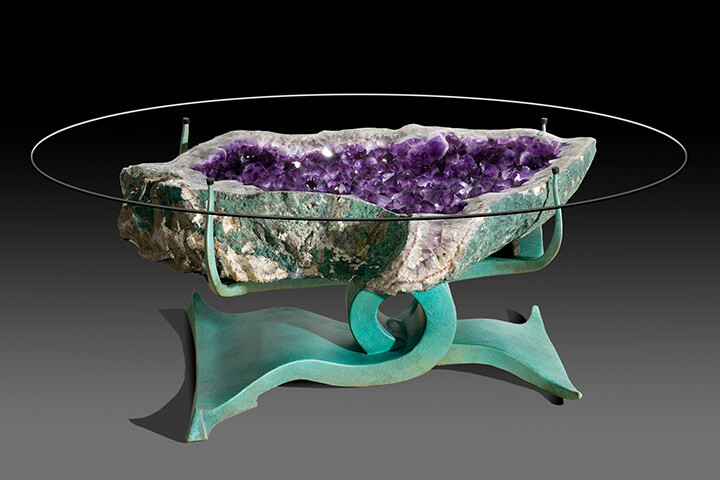 Spectacular gemstone sculptures by Lawrence Stoller