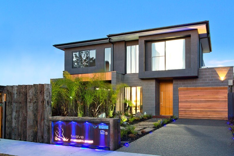 House with splendid stylistic conception and impeccable finishes in Melbourne