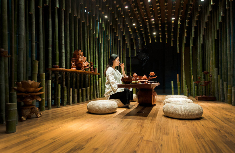 Lotus Amp Bamboo Tea Room Dedicated Meditation And