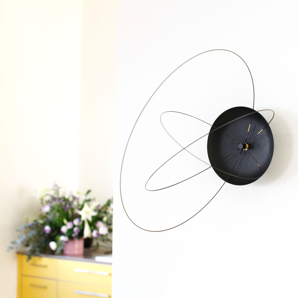 The Orbits Clock by Studio Ve: new and unique wall clock