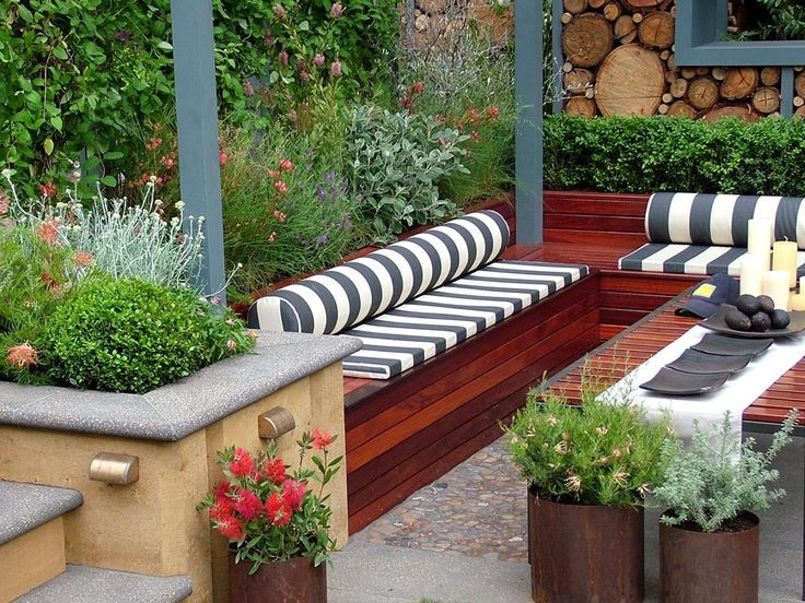Contemporary garden design: Ideas and Tips
