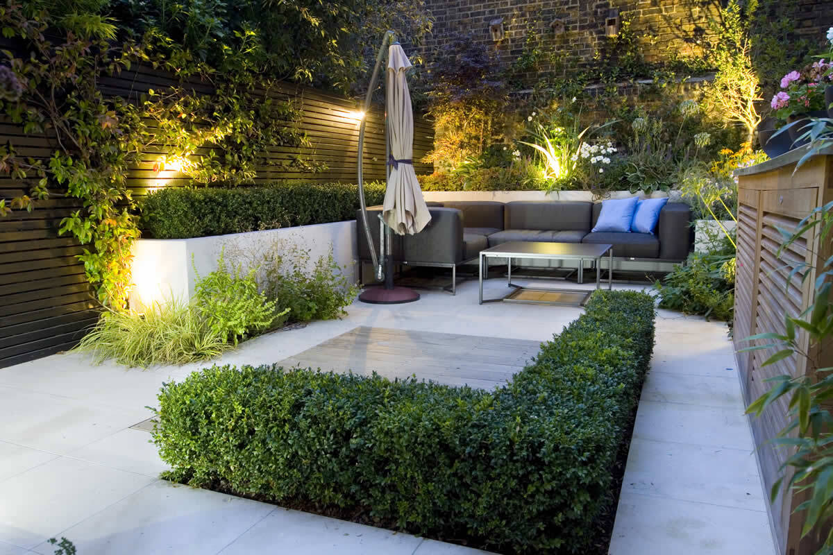 Contemporary garden design Ideas and Tips - www ... on Backyard Patio Landscaping id=73215