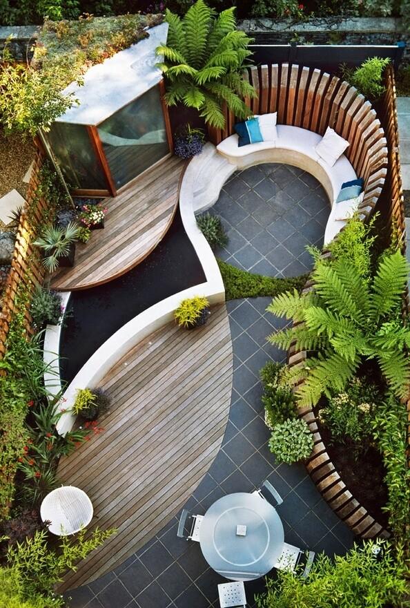 Contemporary Garden Design Ideas And Tips Www Homeworlddesign Com 2