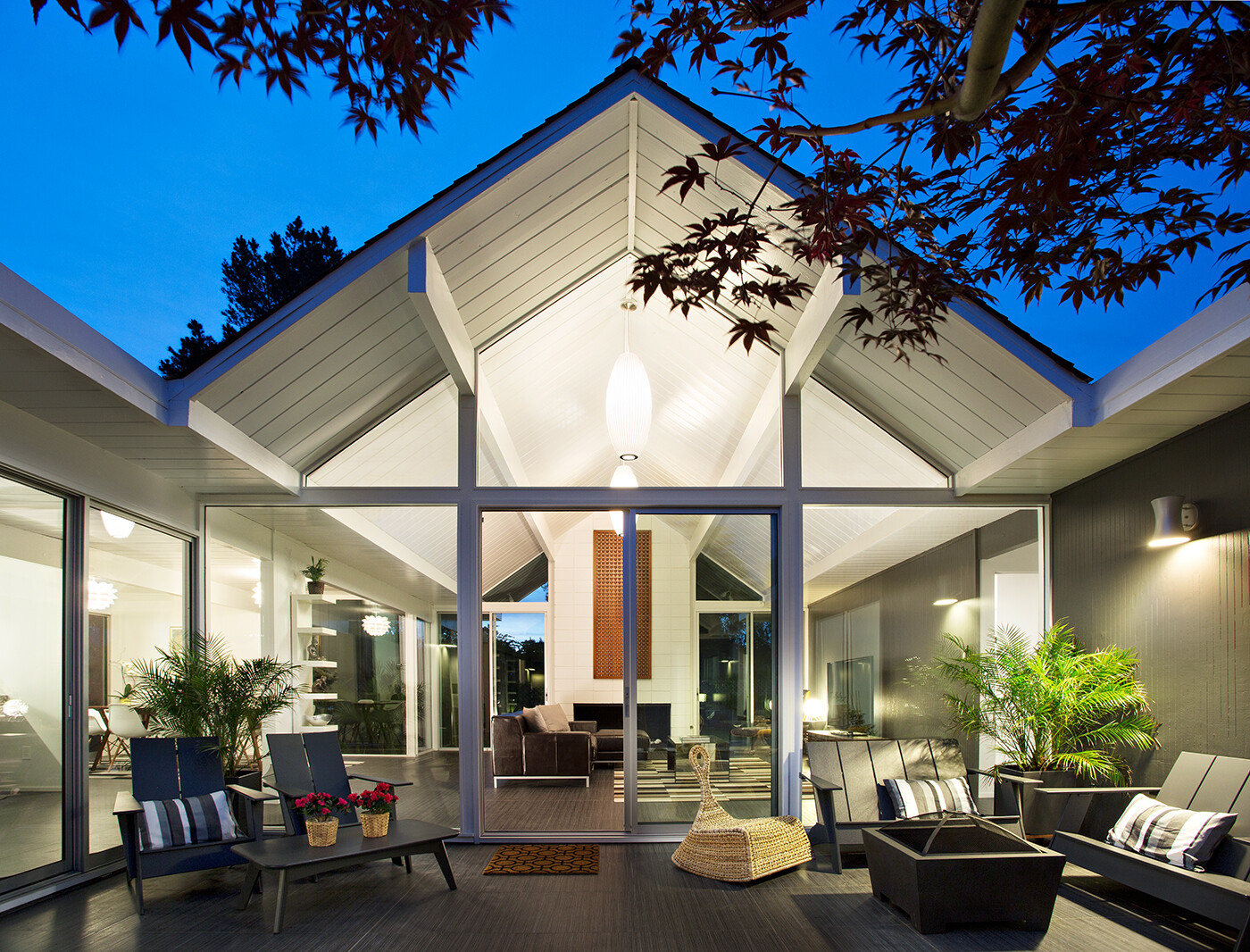 Home Plans: Eichler House Modernized By Klopf Architecture