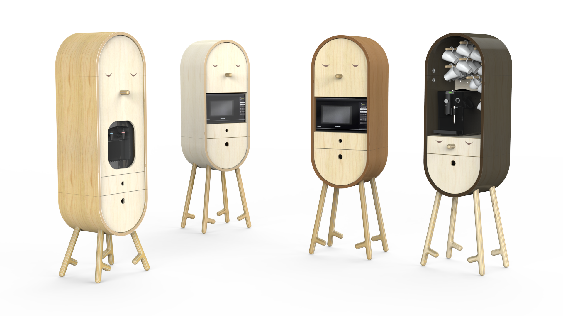 Lo-Lo, The Capsular Microkitchen by Aotta Studio
