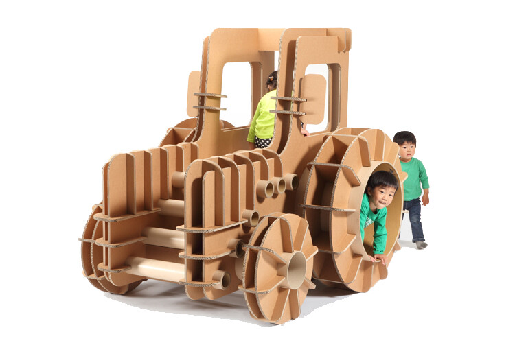 Playground equipments and innovative toys designed by Masahiro Minami