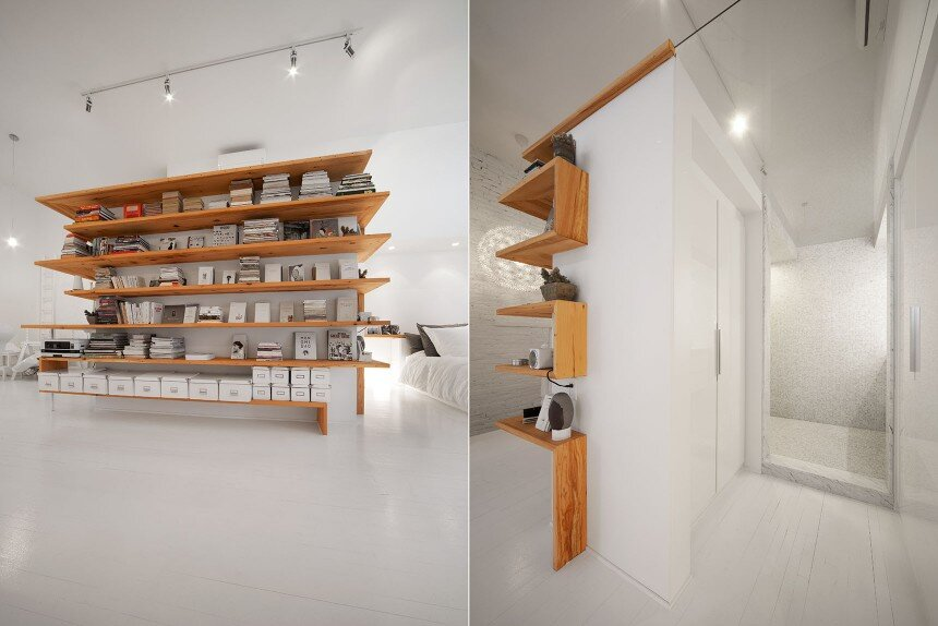 Juliette apartment - Redesign the third floor of a single-family residence of the Plateau Mont-Royal - HomeWorldDesign (13)