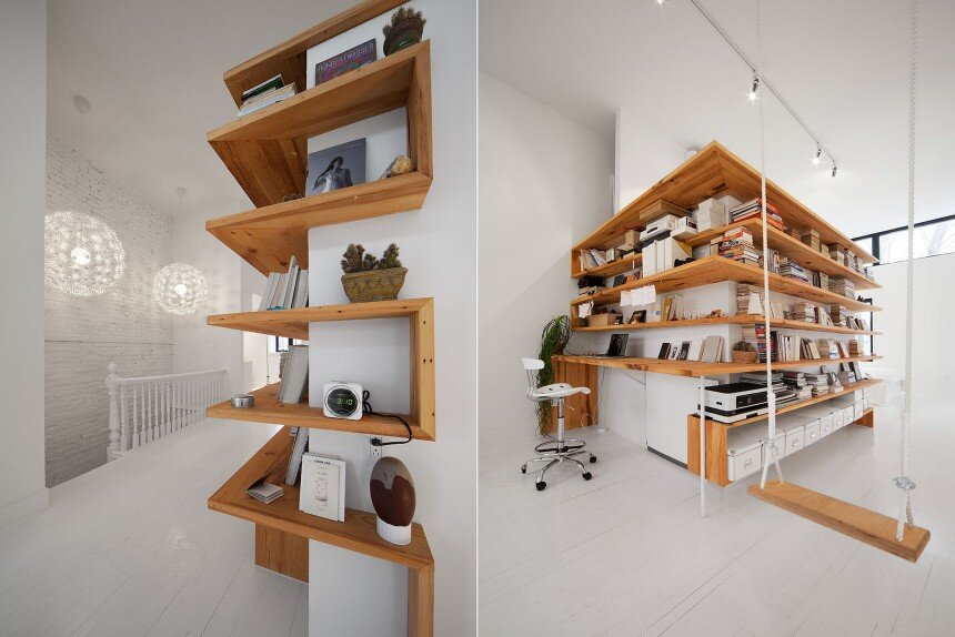 Juliette apartment - Redesign the third floor of a single-family residence of the Plateau Mont-Royal - HomeWorldDesign (14)