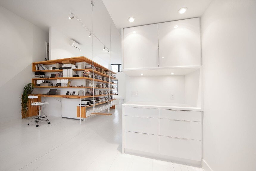 Juliette apartment - Redesign the third floor of a single-family residence of the Plateau Mont-Royal - HomeWorldDesign (6)