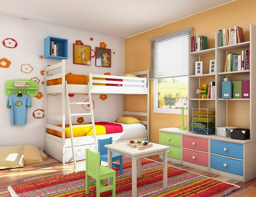 10 tips for designing children's rooms - HomeWorldDesign 20