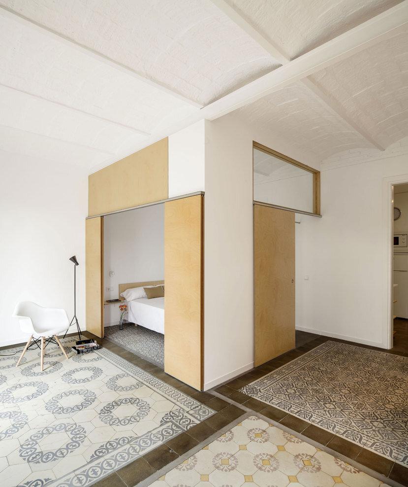 bedroom, Spanish architect Adrian Elizalde - HomeWorldDesign (5)