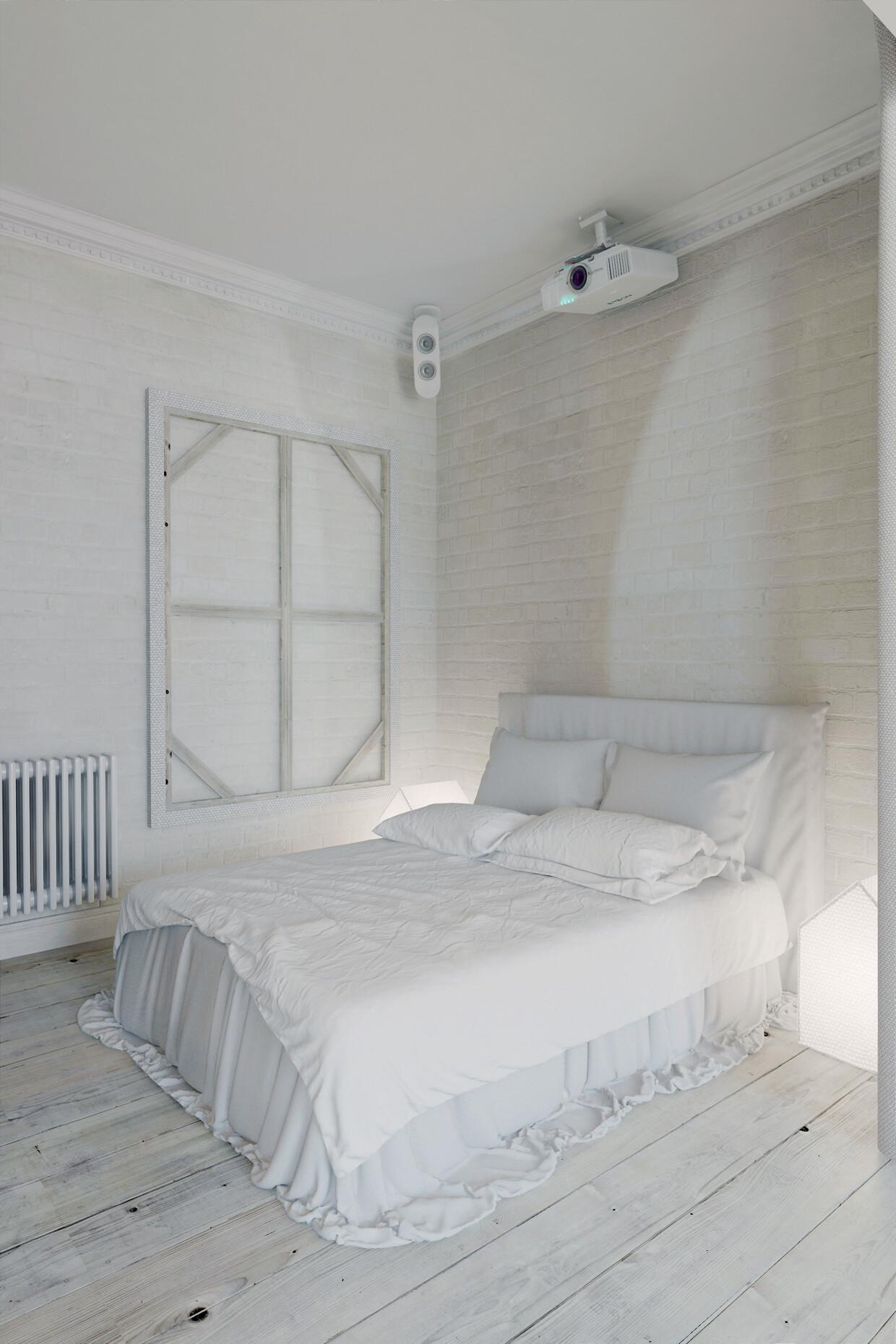Apartment Prague with a completely white interior - Anton Medvedev - HomeWorldDesign (10)